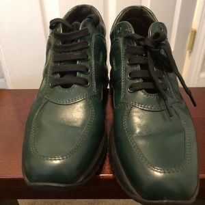Hogan's Green Sneakers Sz361/2
